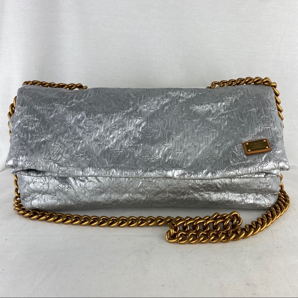 Louis Vuitton Handbags - LOUIS VUITTON Quilted Silver Limelight GM on Chain